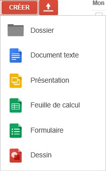 Les applications de Google Docs