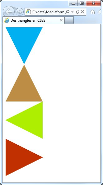 triangles css3