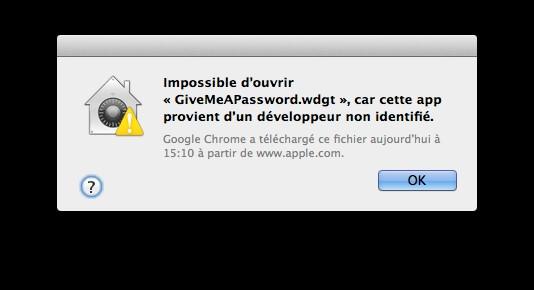 apple cout lorsque application download