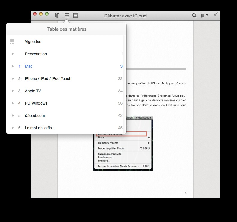 Osx mavericks l application ibooks m diaforma for Sur la table application