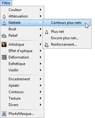 Photofiltre - Améliorer la netteté d'une photo 1