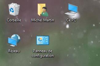 Windows 10 mes ic nes ont disparu m diaforma - Comment remettre l icone corbeille sur le bureau ...