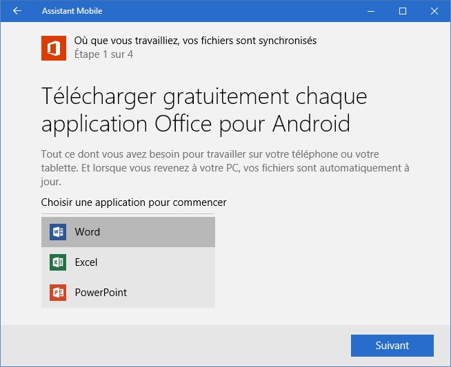 application android pour pc windows 10
