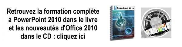 Bannière PowerPoint 2010