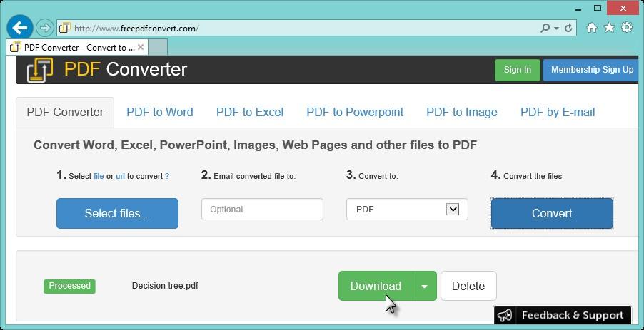 PDF Converter - Téléchargement PDF