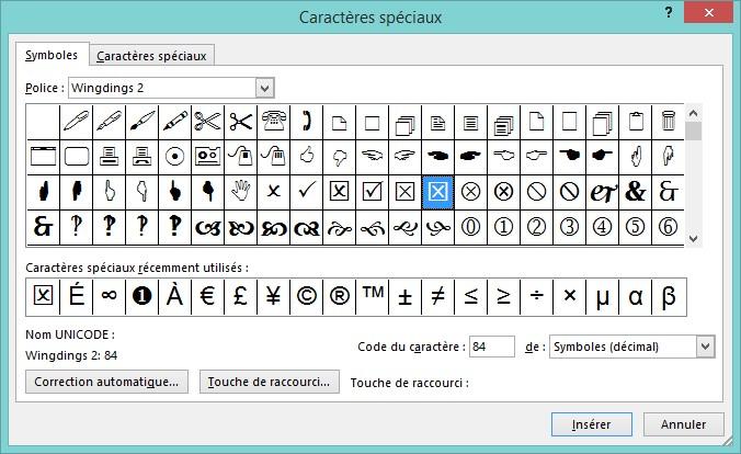 Formulaire PDF - Case à cocher