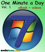 Windows 7 One Minute a Day with videos Vol. 1