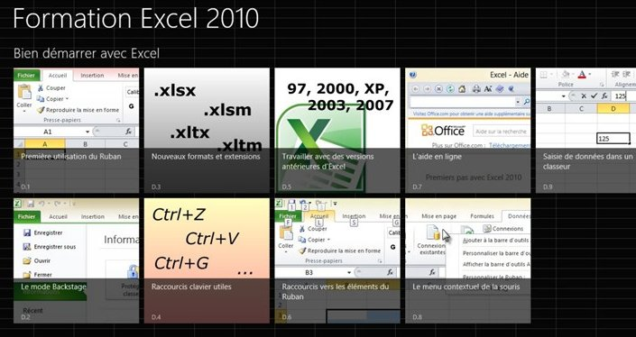 Formation Excel 2010