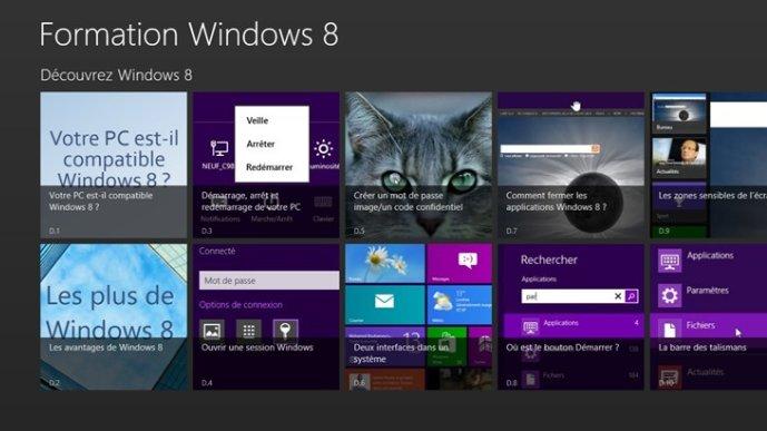 Formation Windows 8