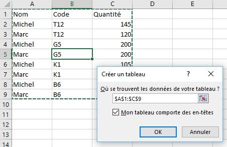 Excel 2016 Definir Et Mettre En Forme Un Tableau Mediaforma