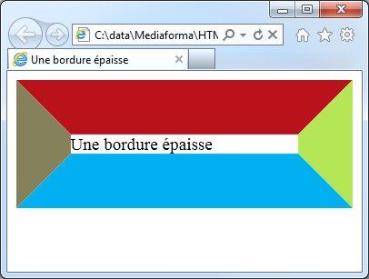 bordures css3