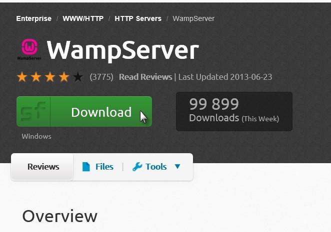 Java - JDBC - Installation de WAMP Server - Médiaforma