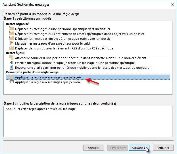 Outlook 2016 Repondre Automatiquement Aux Messages Recus En Cas D