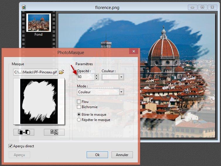 Photofiltre - Appliquer un masque à une image 4