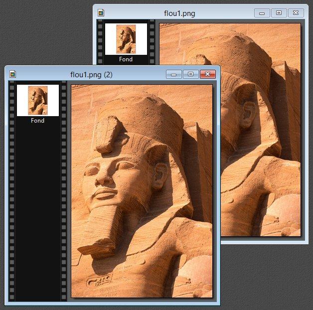 Photofiltre - Dupliquer une image avant de travailler dessus