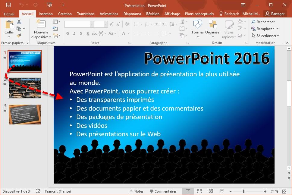 Powerpoint 2016 Les Vues De Powerpoint Mediaforma