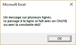 Vba Excel Messages Mediaforma