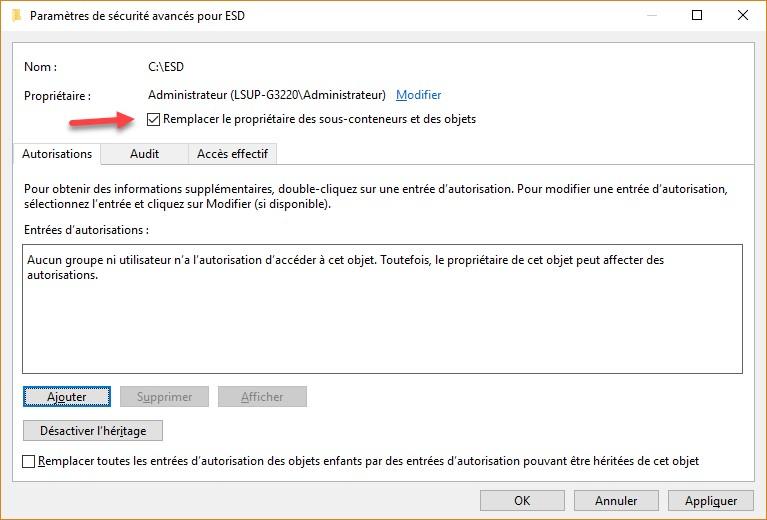 Windows 10 Acces A Un Dossier Ou Un Fichier Refuse Mediaforma