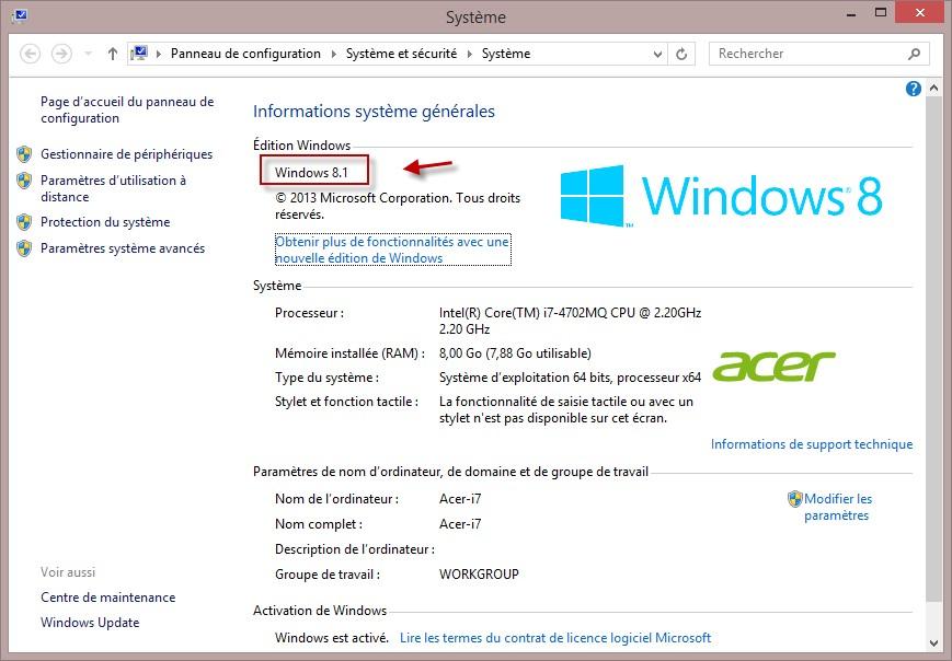 Windows 10 - Caractéristiques minimales pour passer à ...