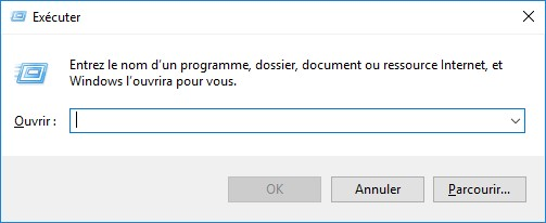 lancer windows 10 en ligne de commande