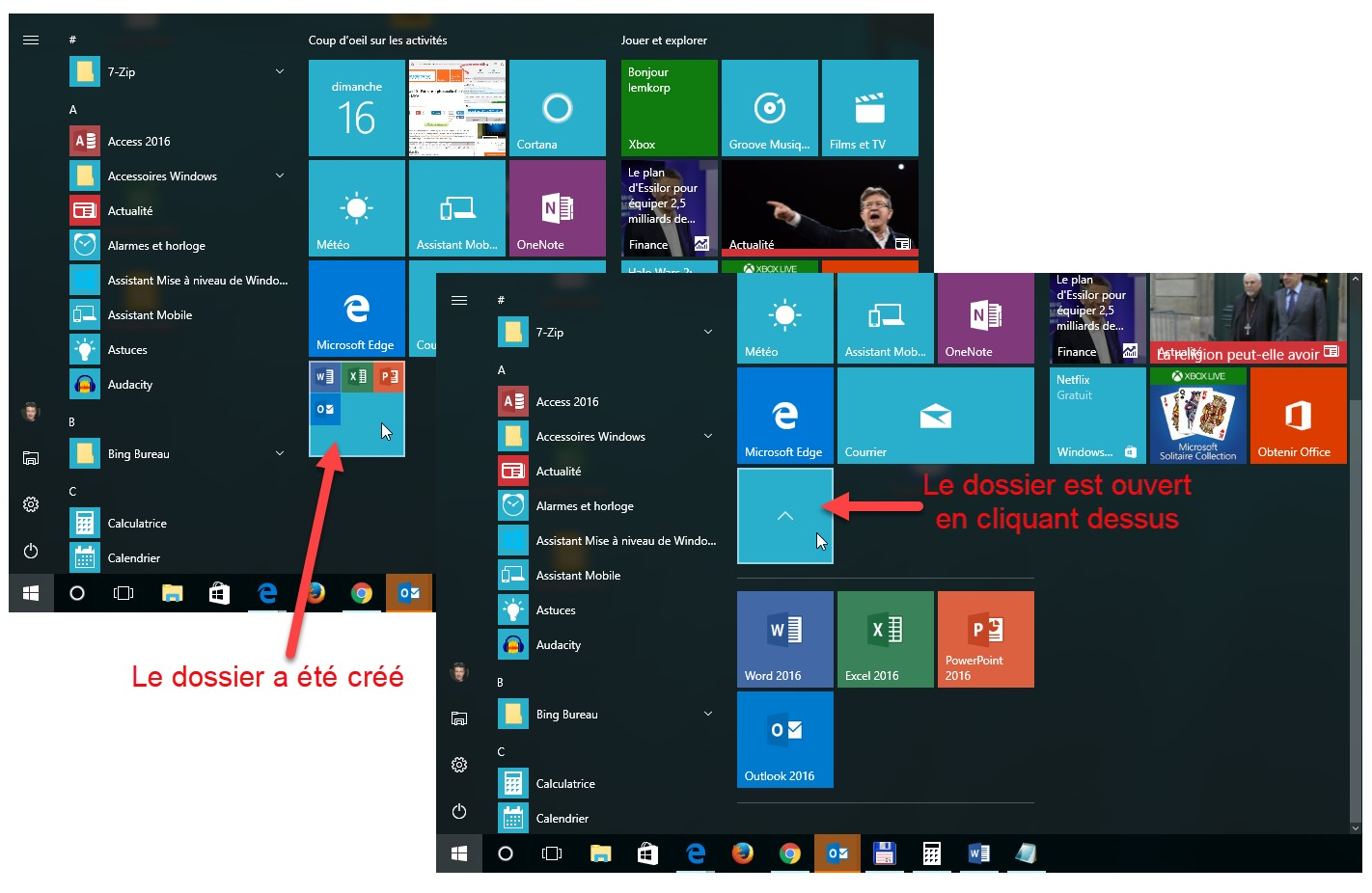 Windows 10 Des Dossiers Dans Le Menu Demarrer Mediaforma
