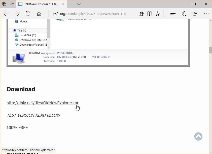 Windows 10 Un Explorateur De Fichiers A L Ancienne Mediaforma