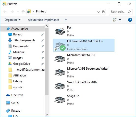 Windows 10 Imprimer Des Fichiers Depuis L Explorateur De Fichiers