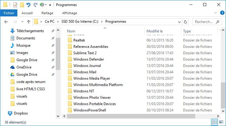 Windows 10 Ou Sont Installees Les Applications Du Windows Store