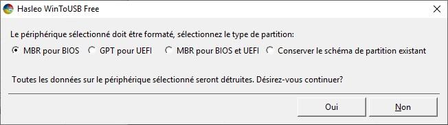 Windows 10 - Installer Windows 10 sur un disque USB externe