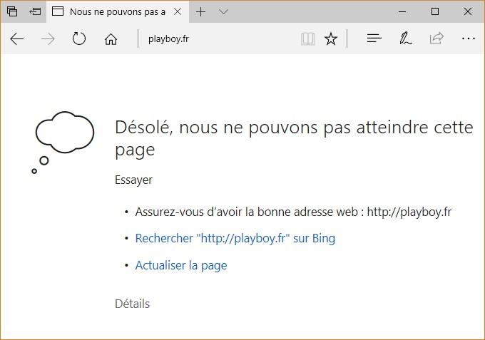 Windows 10 Interdire L Acces A Un Site Web Mediaforma
