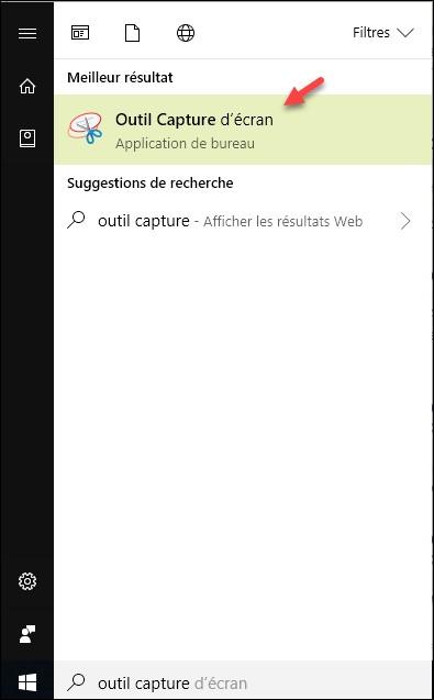 Windows 10 l 39 outil de capture d 39 cran de windows 10 for Fenetre windows outils