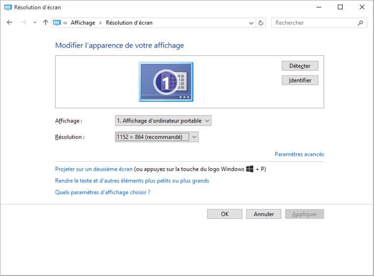 Windows 10 Modifier La Resolution De L Ecran Mediaforma