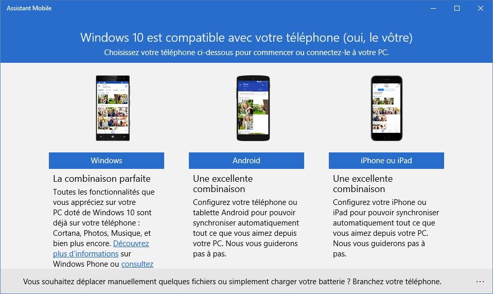 Windows 10 Synchronisation Sur Pc Telephone Et Tablette Mediaforma