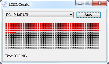 créer des images ISO
