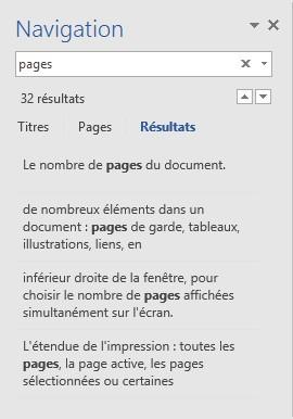 Word 2016 Recherche De Texte Mediaforma