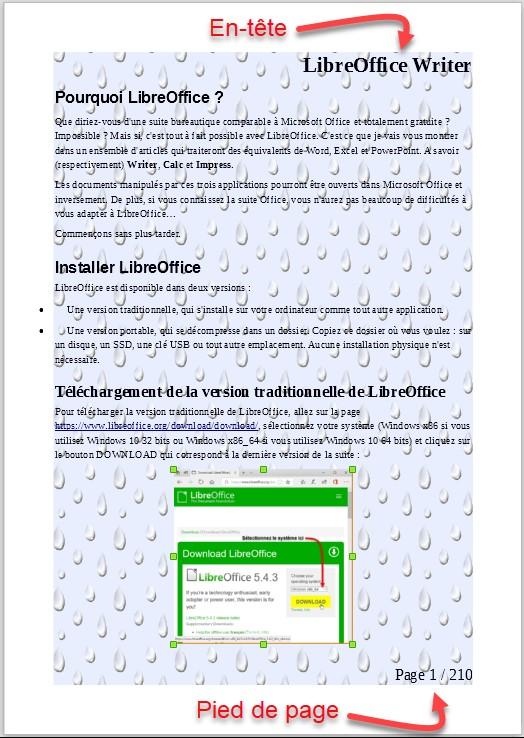 Libreoffice writer arri re plan du document m diaforma - Arriere plan open office writer ...
